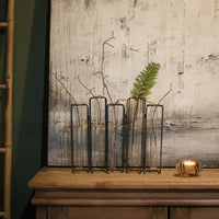 NEW Five Set Test Tube Vase with Stand 51cm | Annie Mo's