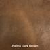 Patina Dark Brown Leather | Annie Mo's