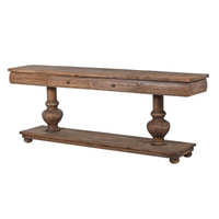 Reclaimed Elm Console Table 210cm | Annie Mo's