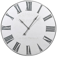 Large White Wall Clock 107cm | Annie Mo's