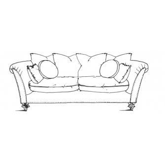 Farmhouse Luxe Large Sofa