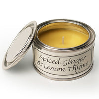 Spiced Ginger & Lemon Thyme Annie Mo's Tinned Candle | Annie Mo's
