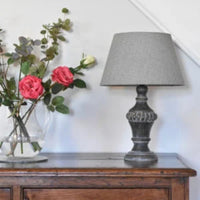 Stonewash Grey Table Lamp 32cm | Annie Mo's