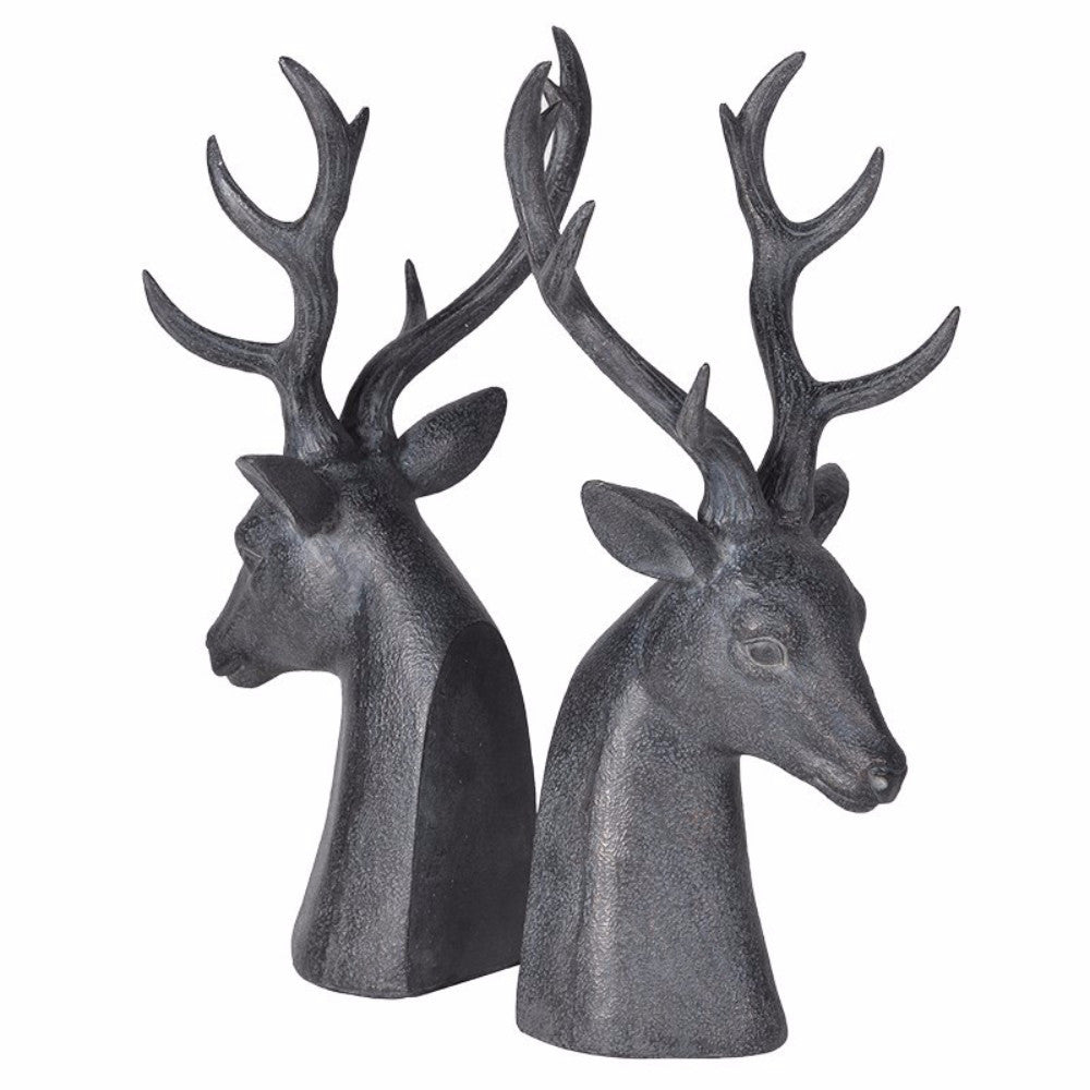 Deer Head Bookends | Annie Mo's