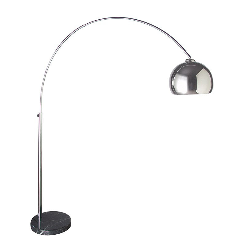 Large Extending Chrome Floor Lamp | Annie Mo's