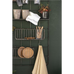 Wall Rack with Shelf Baskets and Hooks