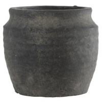 Clay Athens Grooved Pot 12cm | Annie Mo's