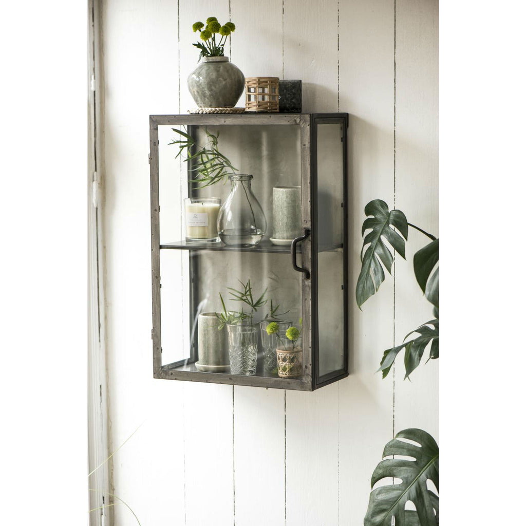 Metal Wall Cabinet with Metal Sides | Annie Mo's