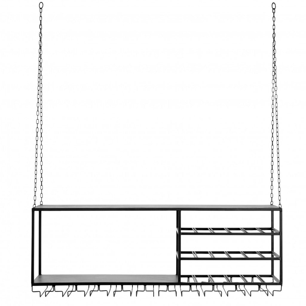 Ceiling Hanging Rack and Shelf 120cm | Annie Mo's