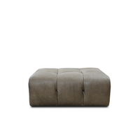 Cecile Foot Stool | Leather