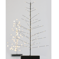 Black LED Battery Operated Festive Tree 40cm | Annie Mo's