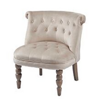 Beige Bedroom Chair | Annie Mo's