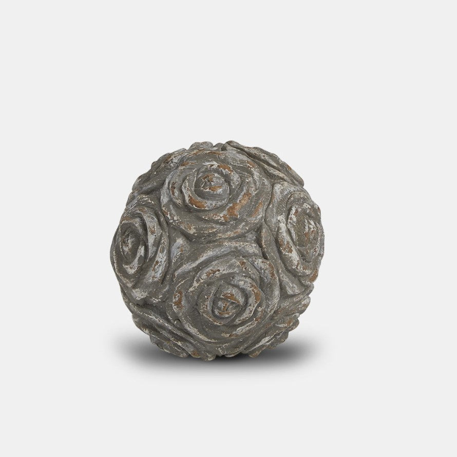 Carved Decorative Ball 12cm | Annie Mo's