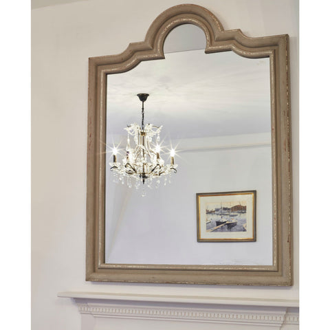Wilton Grey Portrait Mirror | Annie Mo's