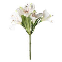 Lily Spray White 105cm