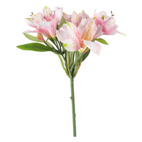 Lily Spray Light Pink 105cm | Annie Mo's