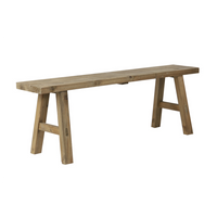 Natural Wood Simple Bench 108cm | Annie Mo's