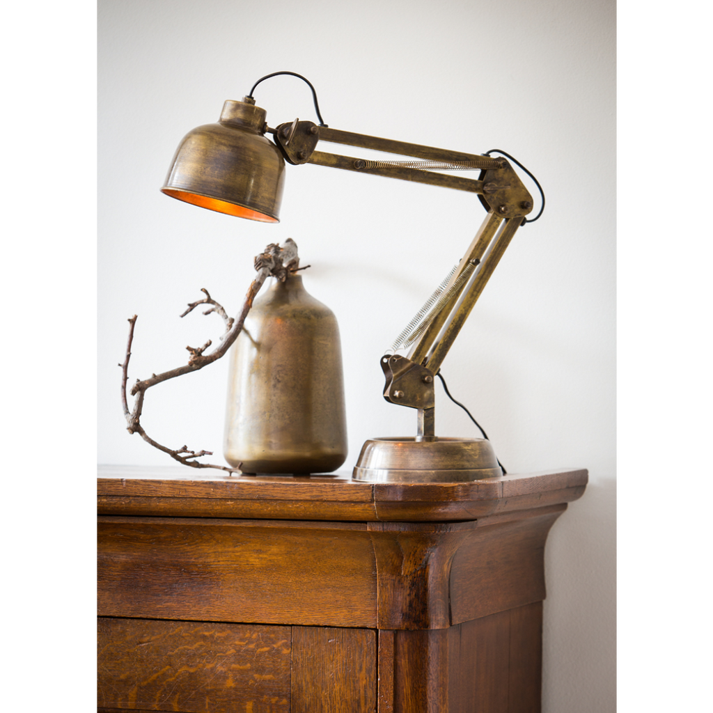 Desk Lamp - Antiqued Burned Bronze 60cm | Annie Mo's