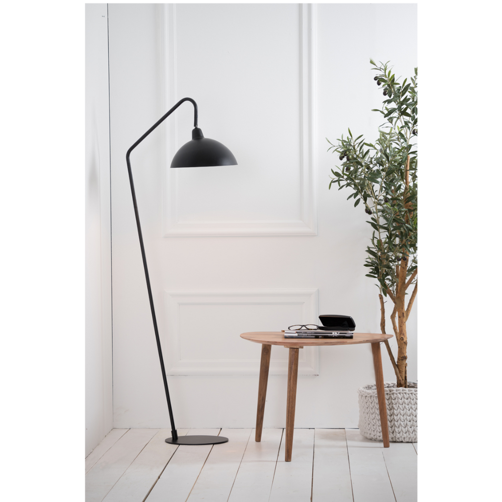 Matted Black Adjustable Floor Lamp 150cm | Annie Mo's