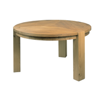 Yask HelsinkY Round Dining Table Round Dining Table | Annie Mo's