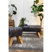 Army Leather Benches 90cm | Annie Mo's