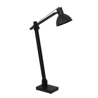 Matt Black Adjustable Floor Lamp 125cm | Annie Mo's