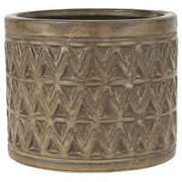 Pot with Zig Zag Pattern 17cm | Annie Mo's