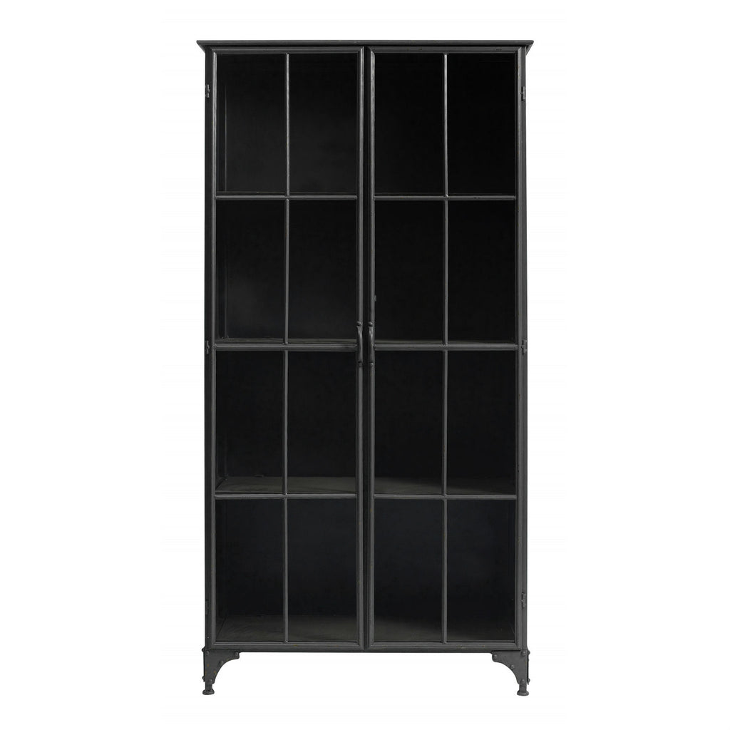 Downtown Black Iron Cabinet | Annie Mo's