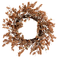 Blush Coloured Seasonal Wreath 54cm | Annie Mo's