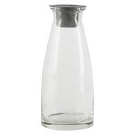 Bottle with Loose Dinner Candle Holder 13cm