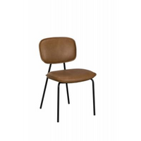 Olivia Dining Chair - Tan | Annie Mo's