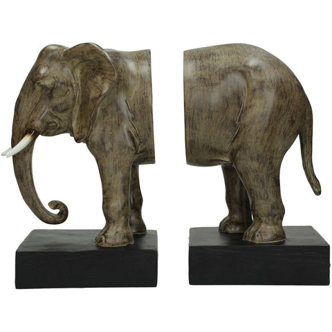 Elephant Bookends 31cm's | Annie Mo's