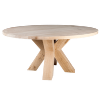 YASK Yrasmus Round Dining Table | Annie Mo's