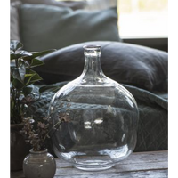 Round Balloon Glass Vase 31cm