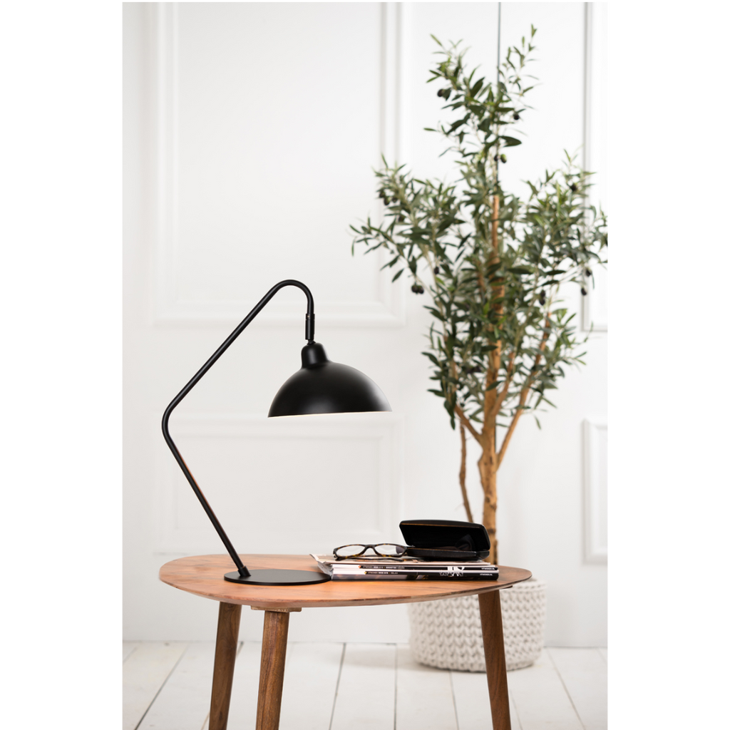 Adjustable Matted Black Desk Lamp 50cm | Annie Mo's