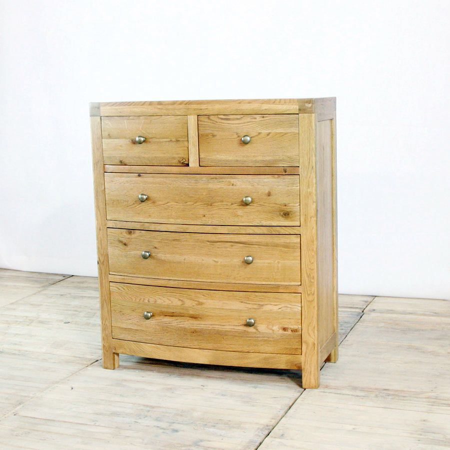 Vienna 5 Drawer Tallboy
