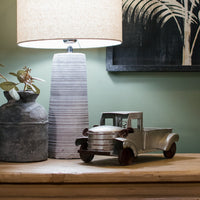 Vintaged Metal Pick Up Truck 30cm | Annie Mo's