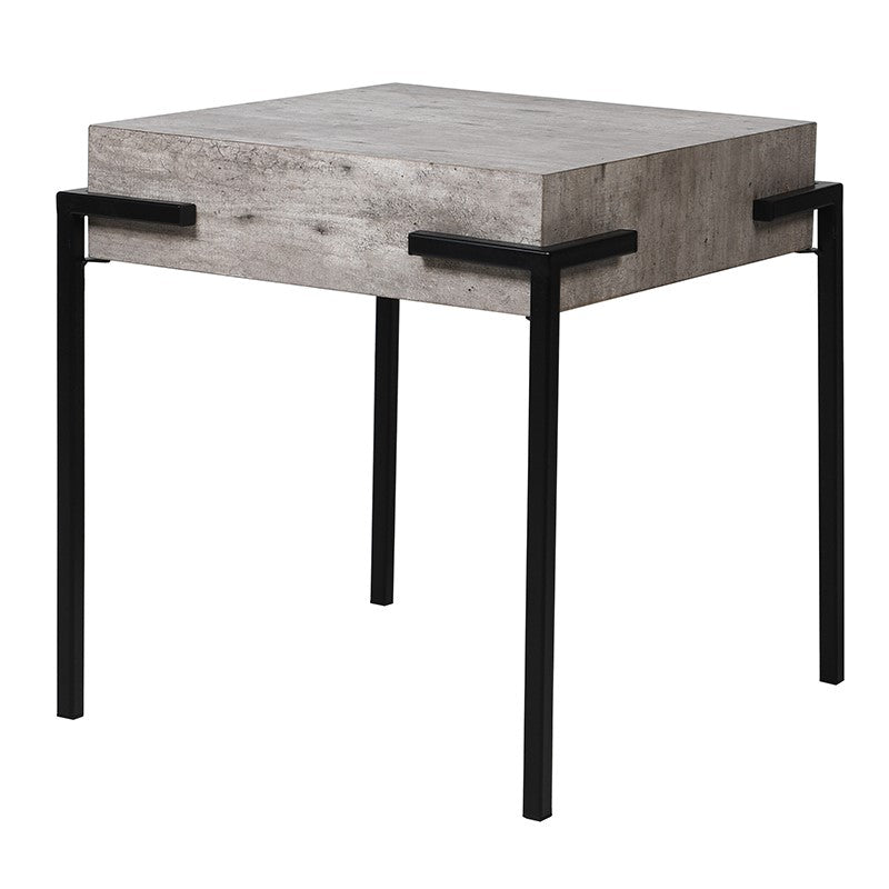 Contemporary Concrete Look Lamp Table  | Annie Mo's