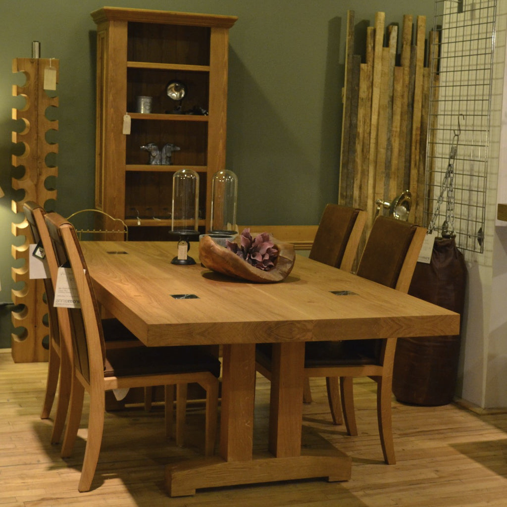 | Mighty Mac Straight Legs BIG Dining Table  - 1