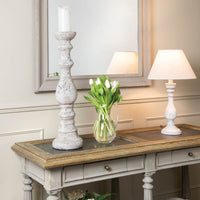 Tall Stone Candle Pillar 72cm | Annie Mo's