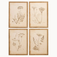 Brockby Set of Four  Wooden Framed Wall Art | Annie Mo's