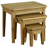 Rhone Oak Nest of Tables | Annie Mo's