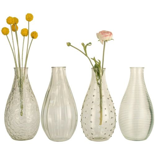 Bottle Vases Assorted Designs Large 24cm | Annie Mo's