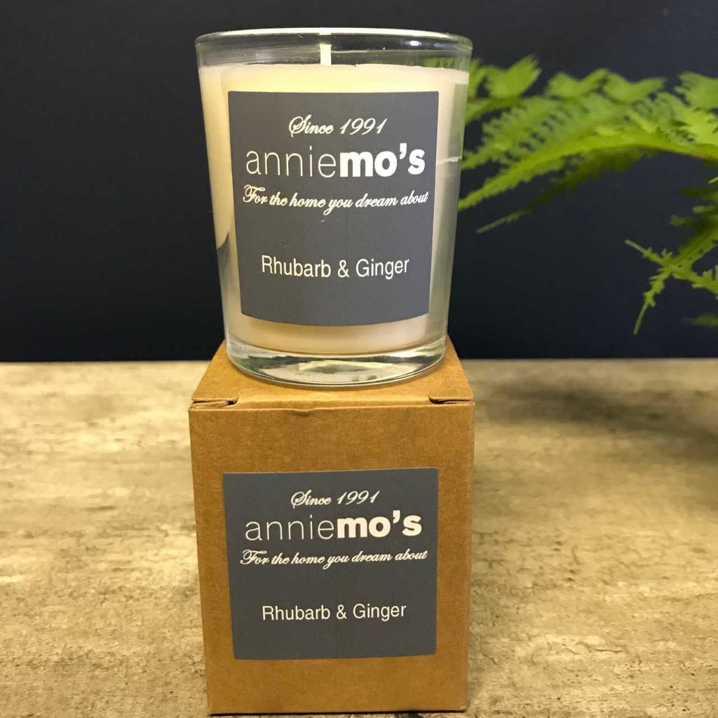 Small Votive Filled Glass Annie Mo's Candles