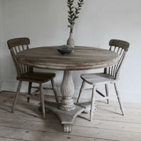 Vintage Round Dining Table 120cm | Annie Mo's