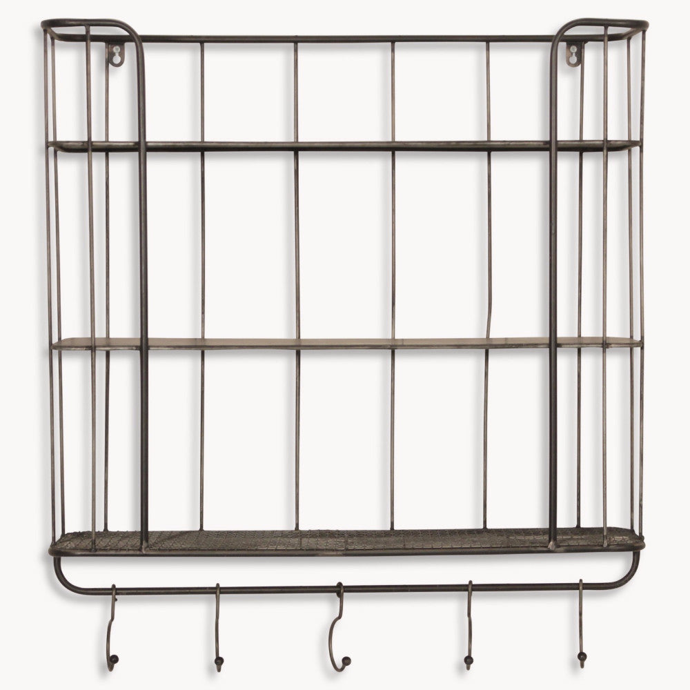 Granville Tall Metal Wall Unit | Annie Mo's