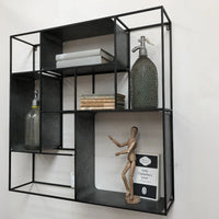 Industrial Iron Wall Storage 80cm | Annie Mo's