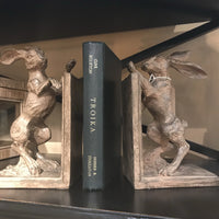 Boxing Hare Bookends | Annie Mo's