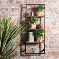 Wall Hanging Bookcase 100cm Roomshot  | Annie Mo's