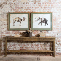 Set of Two Prints - Elephant and Camel each 80cm | Annie Mo's